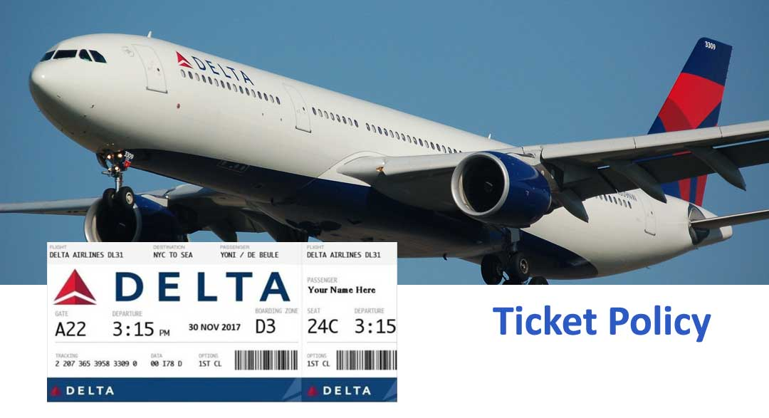 Delta Airlines Ticket Booking
