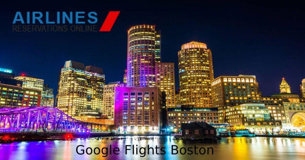 Google Flights Boston